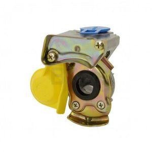 Cuplă aer remorcă, fără supapă, galben - CAR-FSG 16*1.5