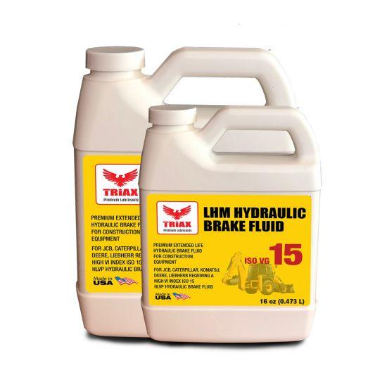 Ulei frâne hidraulice TRIAX ISO 15 JCB, CAT, KOMATSU - 1 US Gallon