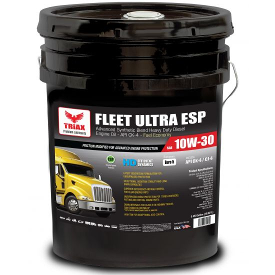 Ulei motor camioane TRIAX FLEET ULTRA 10W-30 - 5 US Gallon