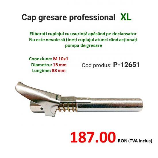 Cap gresare profesional XL