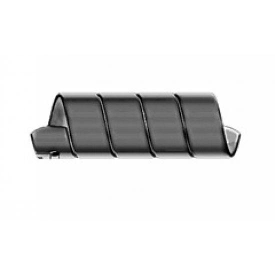Spirală PVC neagră pentru furtunuri
